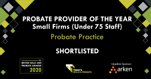 Probate Provider of the Year Small - Probate Practice